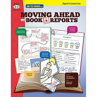On the Mark Press Moving Ahead with Book Reports Book