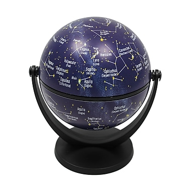 Round World Products Swivel & Tilt Stars Mini Globe, 4
