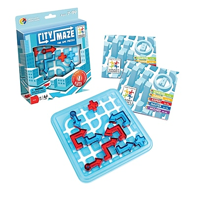 Smart Toys And Games GPS Puzzle Game, City Maze