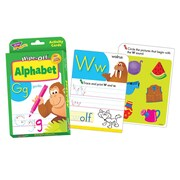 Trend Enterprises® Wipe-Off® Activity Card Set, Alphabet