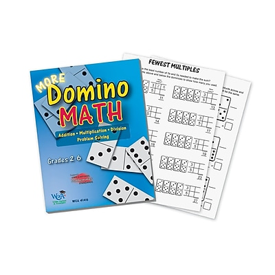 Wiebe Carlson Associates Game Book, More Domino Math