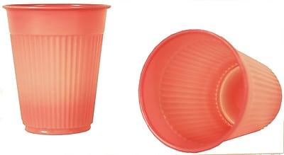Tidi 5 oz. Mauve Plastic Rinse/Drink Cup, 1000/Pack