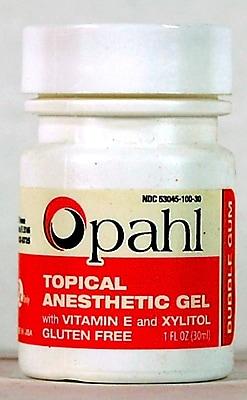 Keystone GELATO 1 Oz.Topical Anesthetic Gel, Bubble Gum