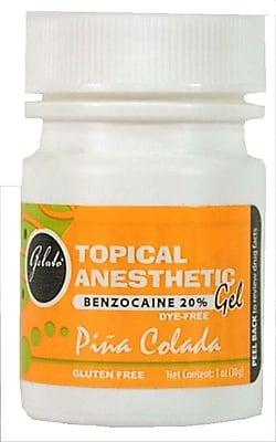 Keystone GELATO 1 Oz.Topical Anesthetic Gel, Pina Colada