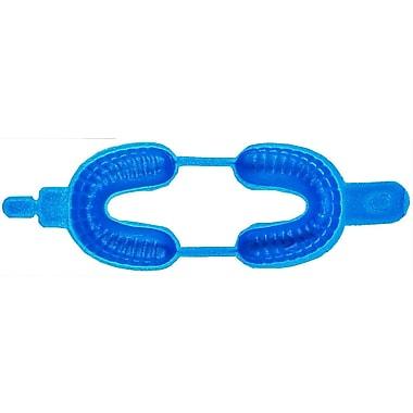 Keystone GELATO Dual Arch Disposable Foam Fluoride Tray, Large, Blue, 100/Pack