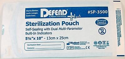 Defend PLUS® Sanax Sterilization Pouch With Dual Indicator, 5 1/4