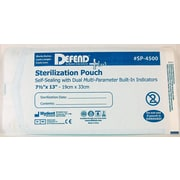 "Defend PLUS® Sanax Sterilization Pouch With Dual Indicator, 7 1/2"" x 13"""