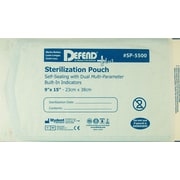 "Defend PLUS® Sanax Sterilization Pouch With Dual Indicator, 9"" x 15"""
