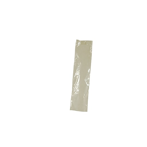 "Keystone PREHMA Plastic Syringe Sleeve Cover, 2 1/2"" x 10"", Clear, 500/Box"