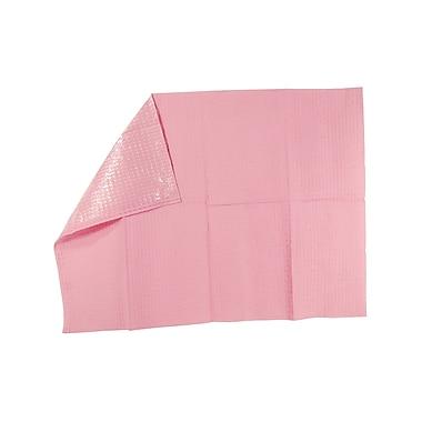 Tidi® Choice 2-Ply Tissue Poly-Backed Waffle-Embossed Bib/Towel, 13