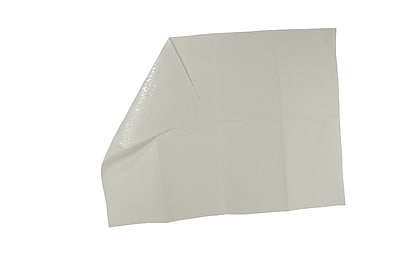 Tidi® Ultimate 3-Ply Tissue Poly-Backed Waffle-Embossed Bib/Towel, 13