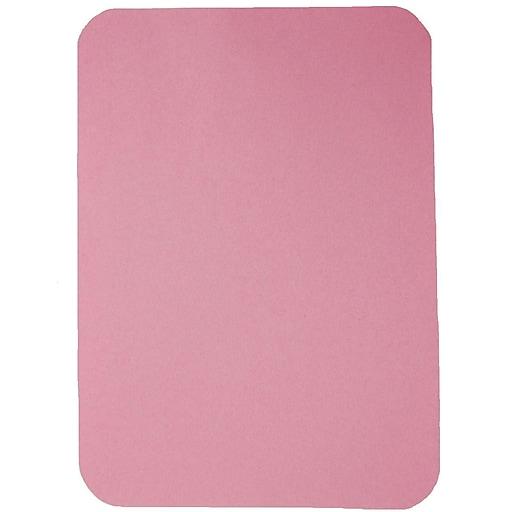"Tidi® Ritter (B) Heavyweight Tray Cover, 8 1/2"" x 12 1/4"", Mauve, 1000/Pack"