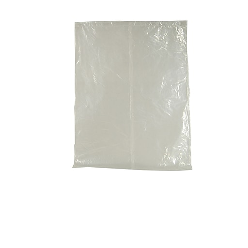 """Tidi® Standard Fit Poly Chair Sleeve Surface Barrier, 27 1/2"""" x 24"""", Clear, 225/Box"""