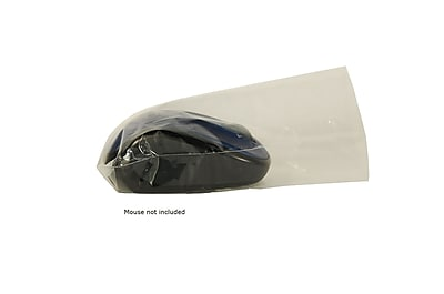 Dynarex Fluid-Proof Optical PC Mouse Cover; Clear, 500/Box