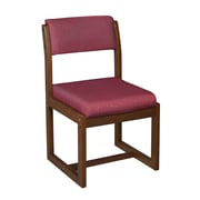 Regency Sled Base Side Wood & Fabric Chair, B61715CHBE