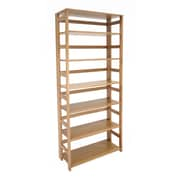 Regency Home Collection 30'' 6-Shelf Bookcase, Medium Oak (FF6730MO)