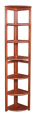 Regency Home Collection 12'' 5-Shelf Bookcase, Cherry (FFC6712CH)