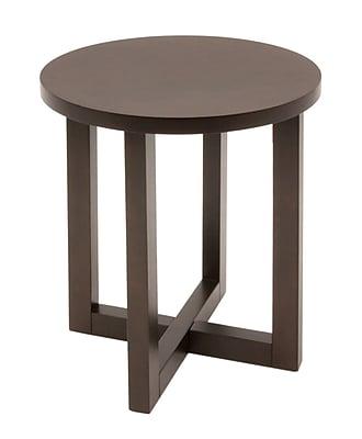 Regency Wood End Table, Mocha Walnut