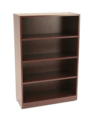 Regency Legacy Collection 47-inch 4-Shelf High Bookcase, Mahogany