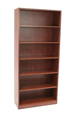 Regency Legacy Collection 71-inch 5-Shelf High Bookcase, Cherry