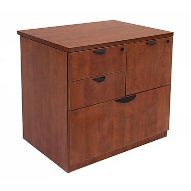 Regency Legacy Lateral Combo File Cabinet, Cherry (LPCL3124CH)