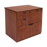 Regency Legacy Lateral Combo File Cabinet, Cherry