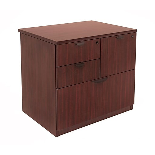 "Regency Legacy 29""H x 31""W Lateral Combo File, Mahogany (LPCL3124MH)"