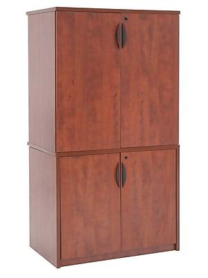 Regency High Storage Cabinet, Cherry