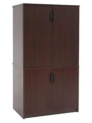 Regency High Storage Cabinet, Mahogany
