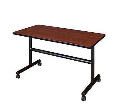 Regency 48'' Rectangular Training Table, Cherry (MKFT4824CH)