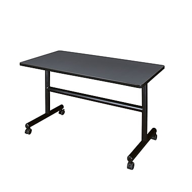Regency 48'' Rectangular Training Table, Grey (MKFT4824GY)