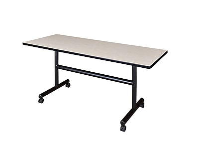 Regency 60-inch Metal & Wood Training Table, Maple