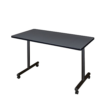 Regency 48'' Rectangular Training Table, Gray (MKTRCC4824GY)