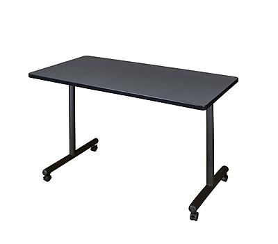 Regency 48'' Rectangular Training Table, Gray (MKTRCC4824GY)
