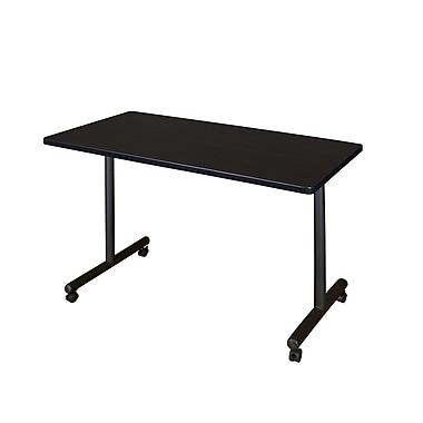 Regency 48'' Rectangular Training Table, Mocha Walnut (MKTRCC4824MW)