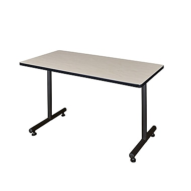 Regency Kobe 48'' Rectangular Training Table, Maple (MKTRCT4824PL)