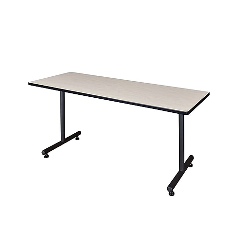 Regency 60-inch Thermal Fused Malamine Training Table, Maple