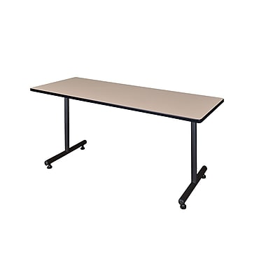 Regency Kobe 72'' Rectangular Training Table, Beige (MKTRCT7224BE)