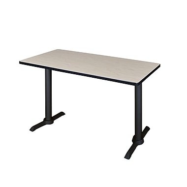 Regency 48'' Rectangular Training Table, Maple (MTRCT4824PL)
