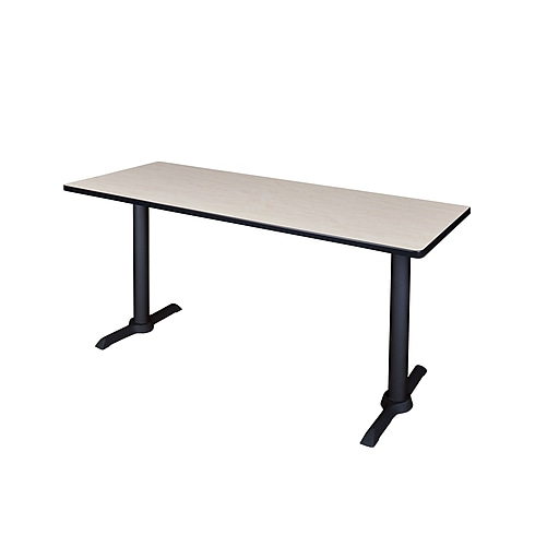 Regency Cain 66'' Rectangular Computer Table, Maple (MTRCT6624PL)