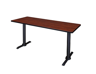 Regency 72-inch Metal & Wood Training Table, Cherry