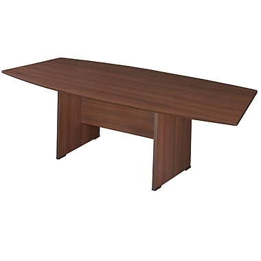 Regency 96'' Boat Conference Table, Java (SCTBS9543JV)
