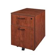Regency Sandia Mobile Box Pedestal File Cabinet, Cherry