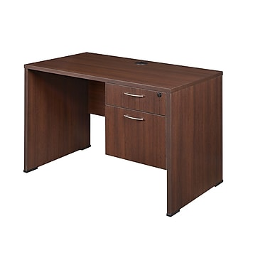 Regency Sandia Desk with Box File Ped, Java