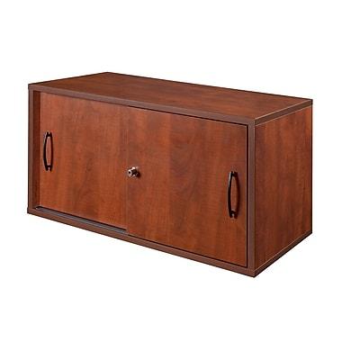 Regency Sandia Wall Mount Storage Cabinet, Cherry