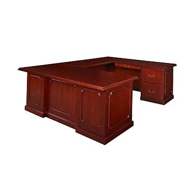 Regency Prestige Wood Veneer Desk, Mahogany (TVUD7236MH)