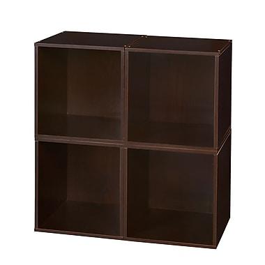 Regency Niche Cubo Storage Set, Truffle, 4 Cubes (PC4PKTF)