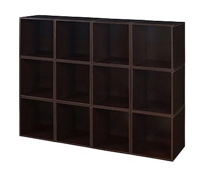 Regency Niche Cubo Storage Set, Truffle, 12 Cubes (PC12PKTF)