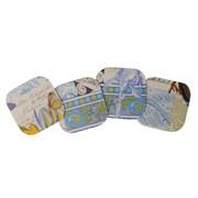 The Designs of Distinction 4 Piece Laminated Coaster Set