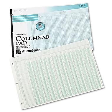 Wilson Jones® Column Write® Side Bound Columnar Pad, 10.8